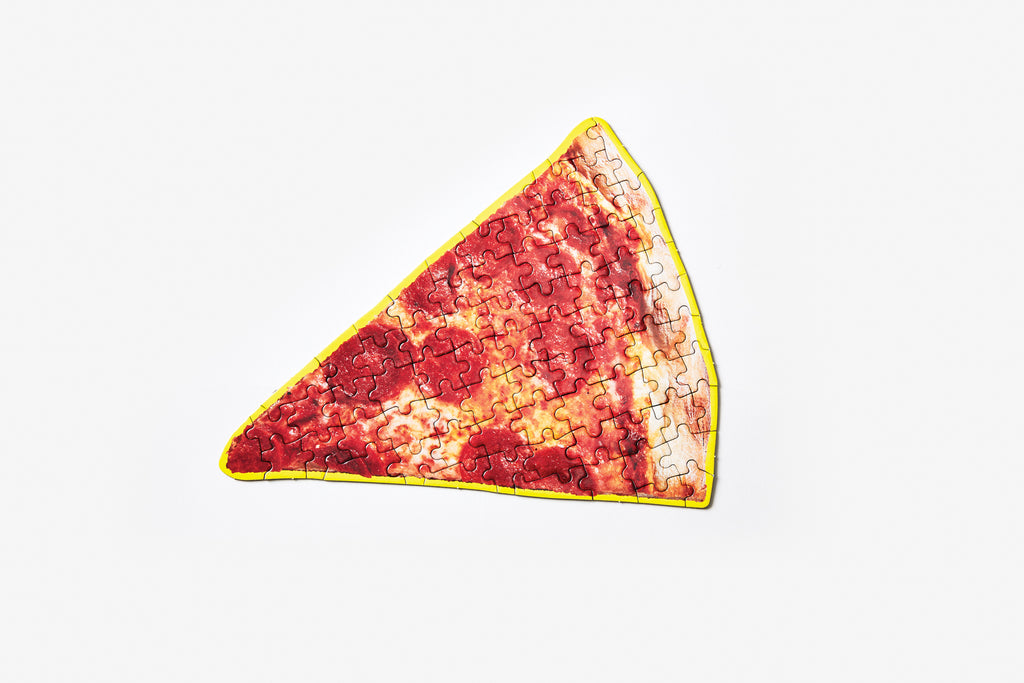 little puzzle thing: pizza