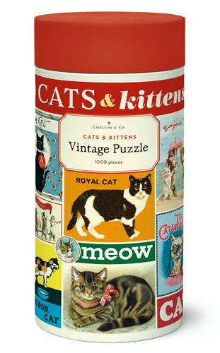 cats & kittens puzzle - 1,000 pc