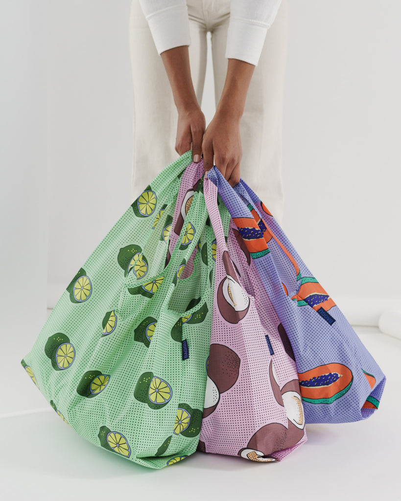 baggu set of 3 tropical fruit