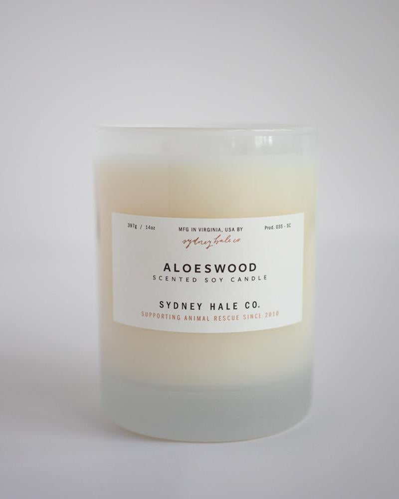 aloeswood 14 oz candle