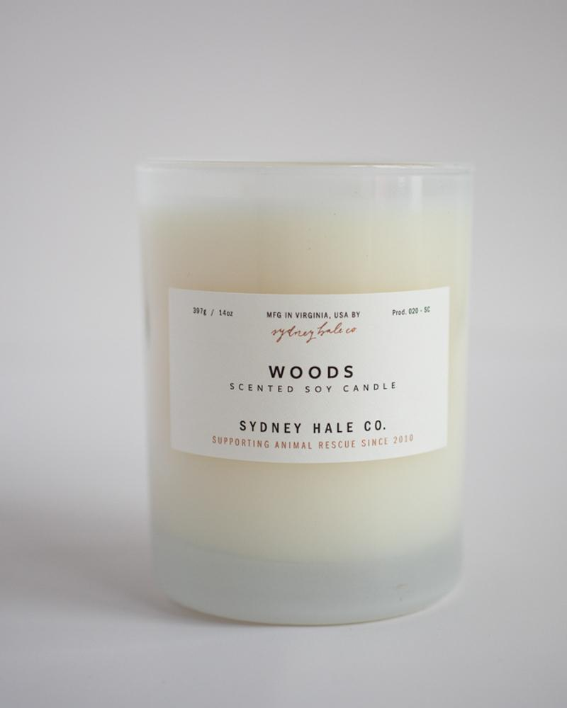 woods 14 oz candle