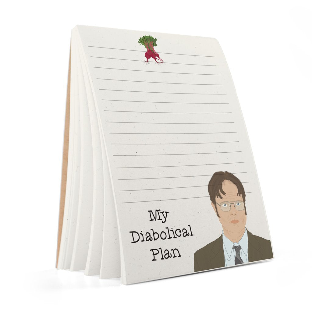 dwight notepad