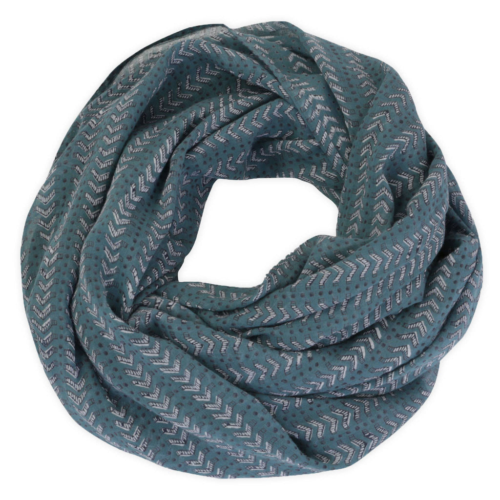 Bath Teal Scarf