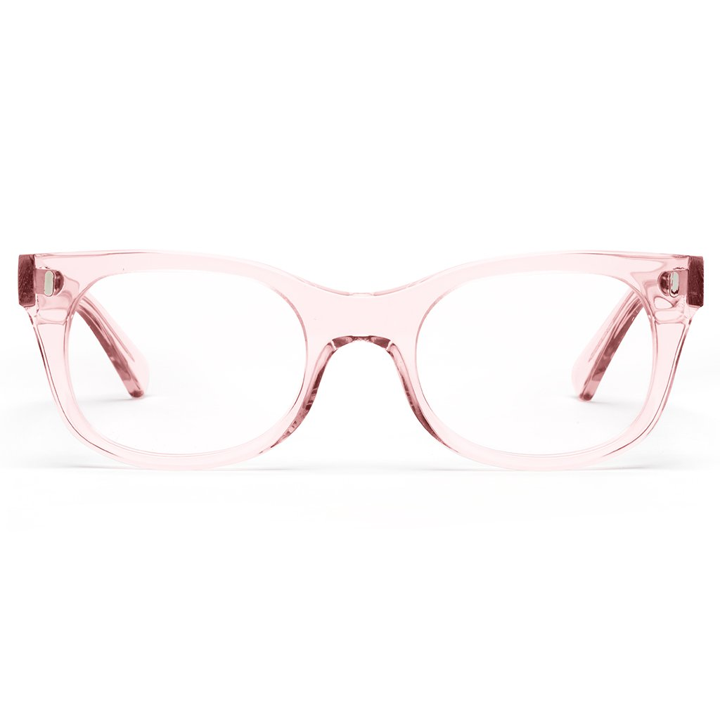bixby polished clear pink