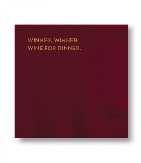 #618 Winner Winner Napkins