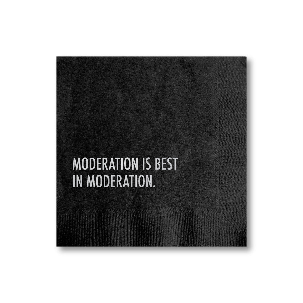 30225 Moderation Cocktail Napkin