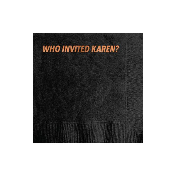 30206 Karen Cocktail Napkin