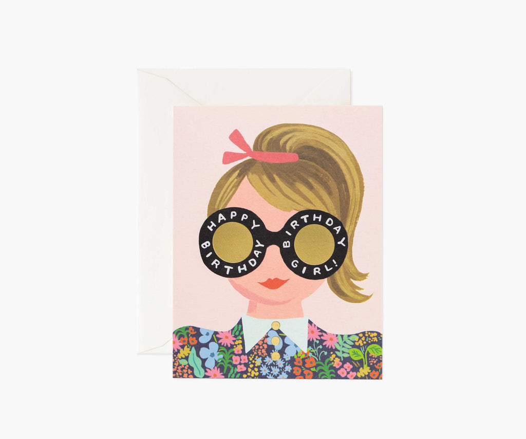 meadow birthday girl card
