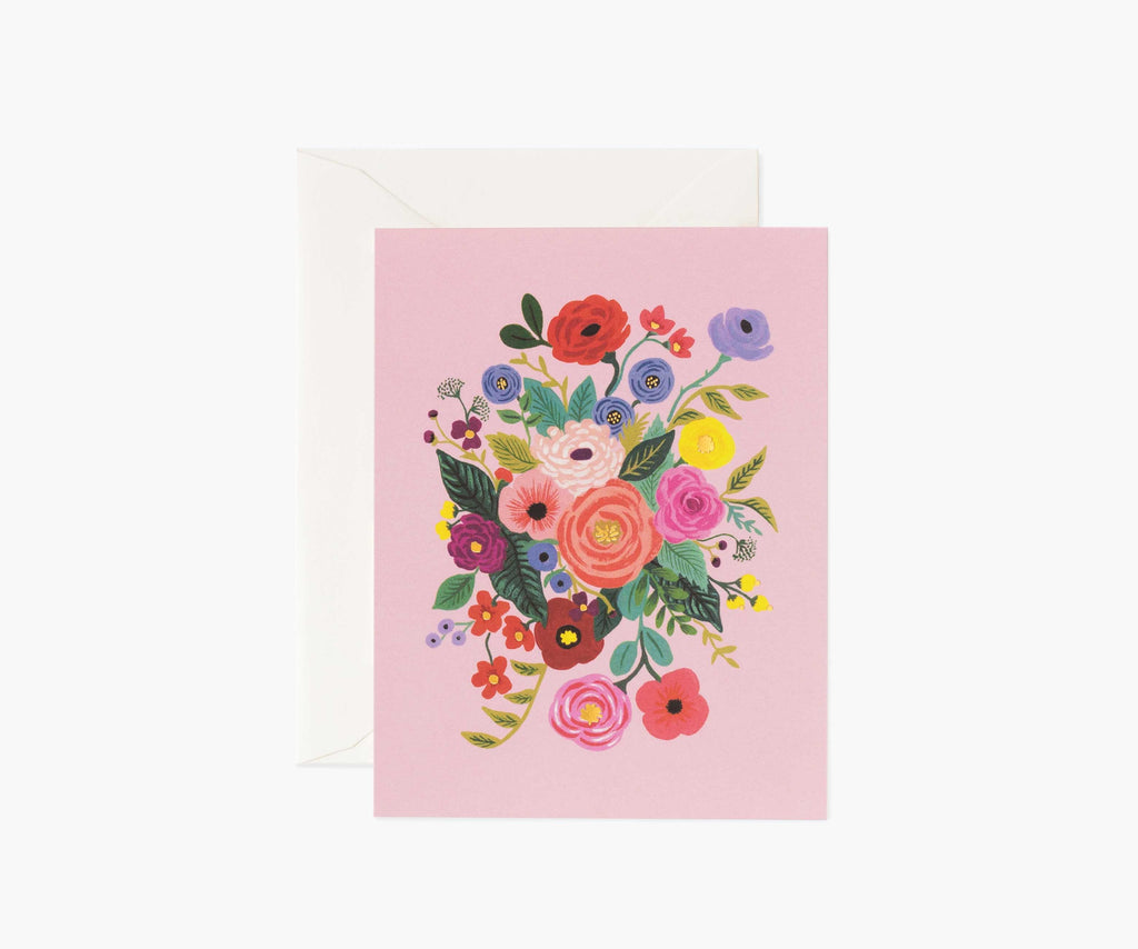 garden party rose card