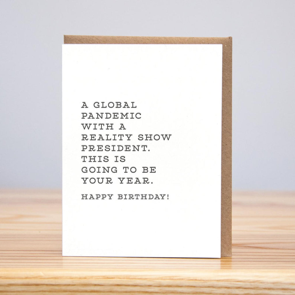 global pandemic birthday card