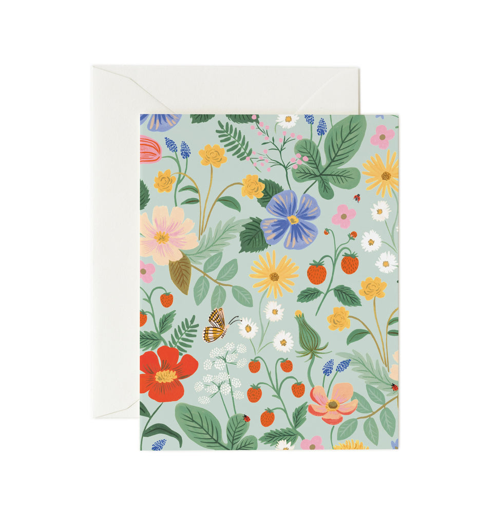 strawberry fields card mint