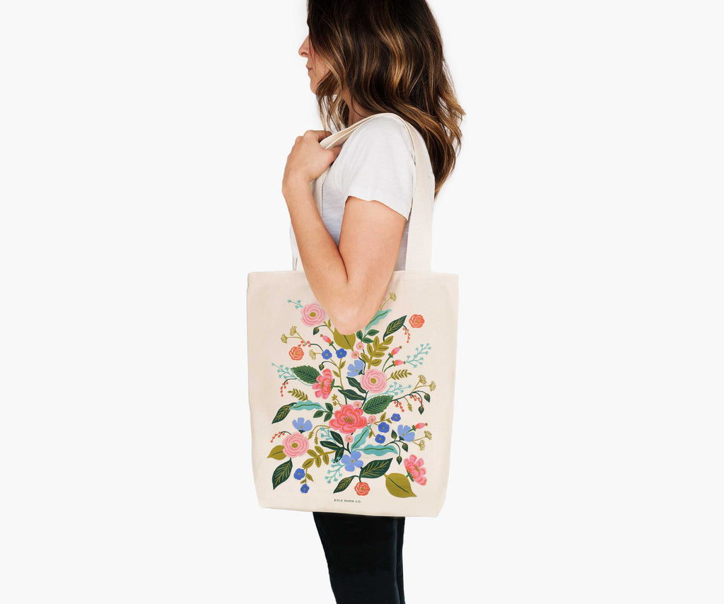 Floral Vines Tote Bag