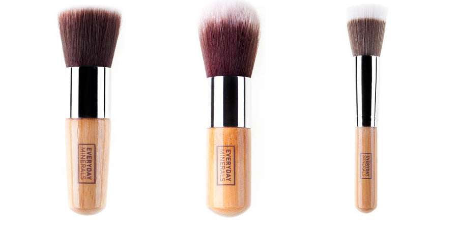 3 BEST-SELLING EVERYDAY MINERALS FACE BRUSHES