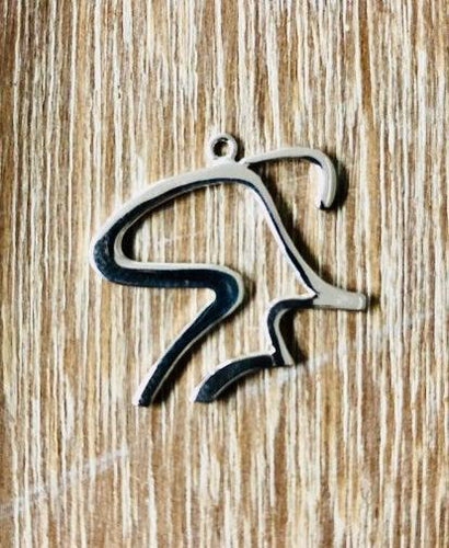 Silver Spinning® Man Pendant