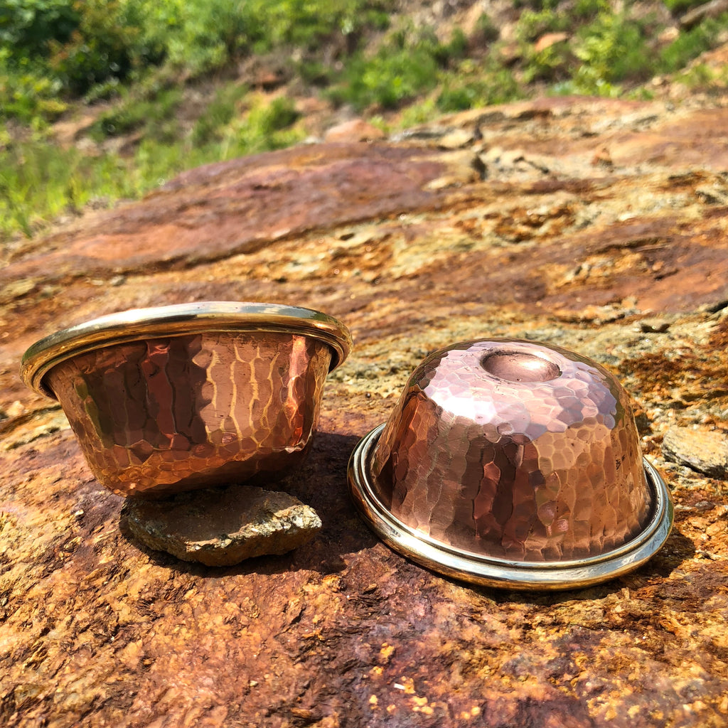 Heavy Copper Offering bowls