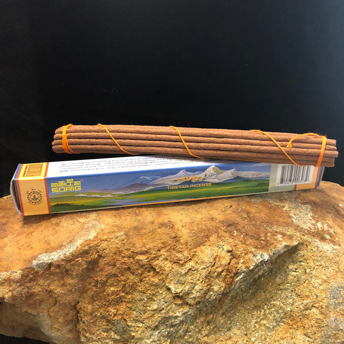 Sorig Incense from Mentsikhang