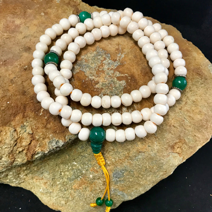 bone white mala 7mm #2