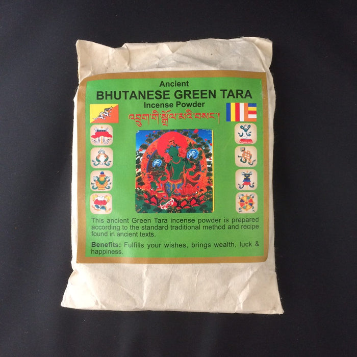 Bhutanese Green Tara Incense Sang Powder