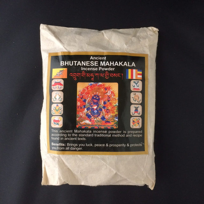 Ancient Bhutanese Mahakala Incense Powder