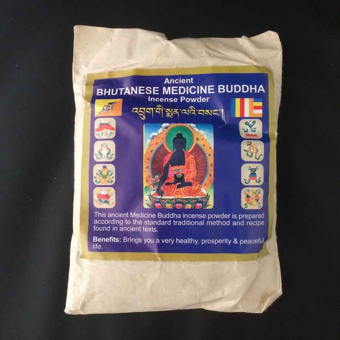 Ancient Bhutanese Medicine Buddha Incense Powder