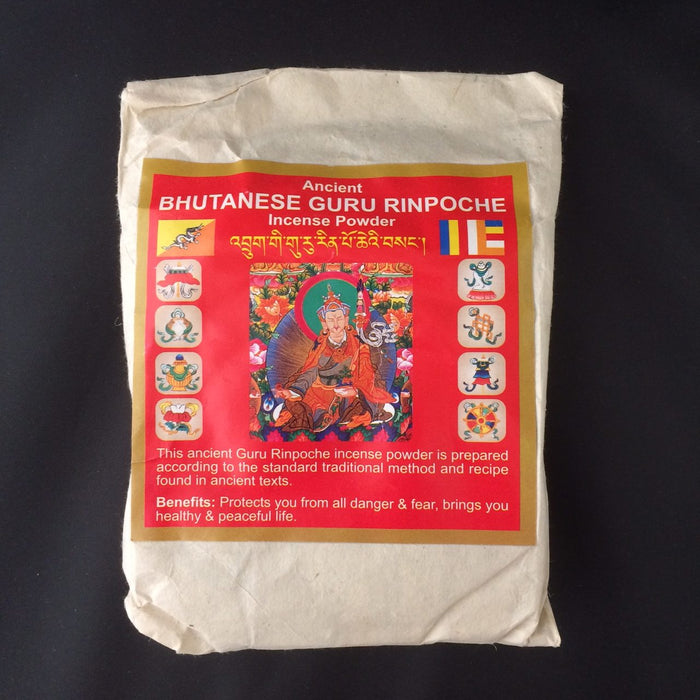Bhutanese Guru Rinpoche Incense Sang Powder