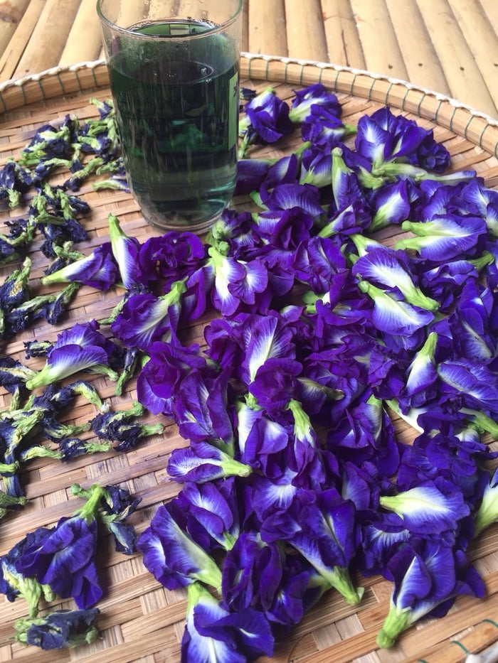 Butterfly-Pea Flower Tea