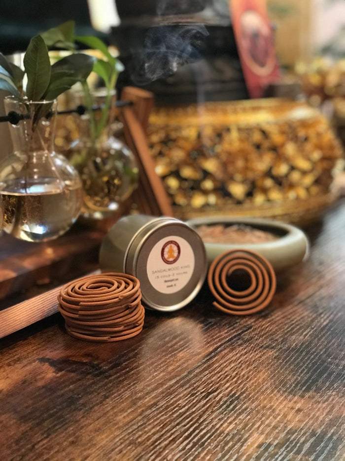 Sandalwood Coiled Incense