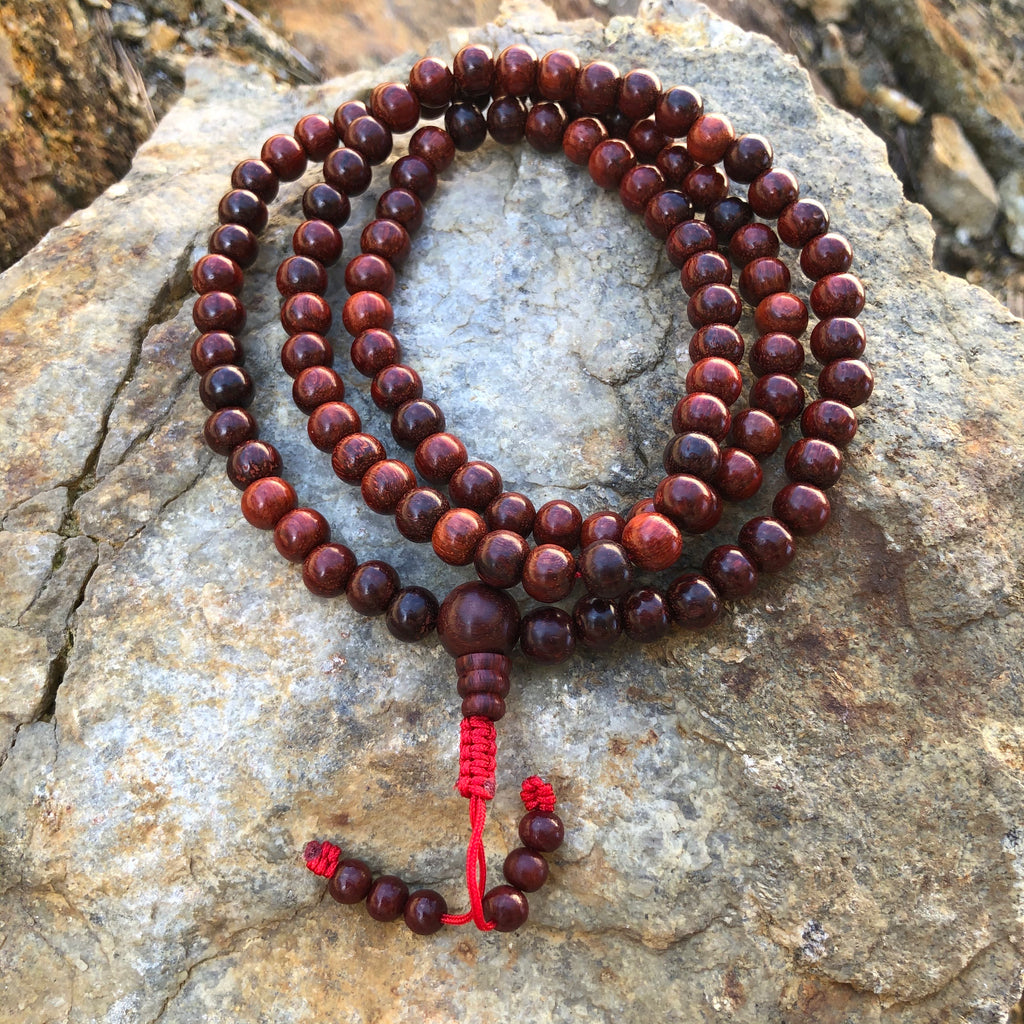 Red Sandalwood  Mala