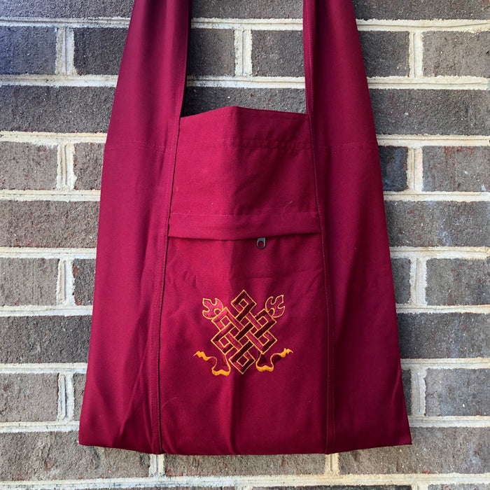 monastic bag -  embroidered