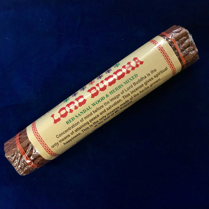 Chandra Devi Red Sandalwood & Herbs Incense (Lord Buddha)