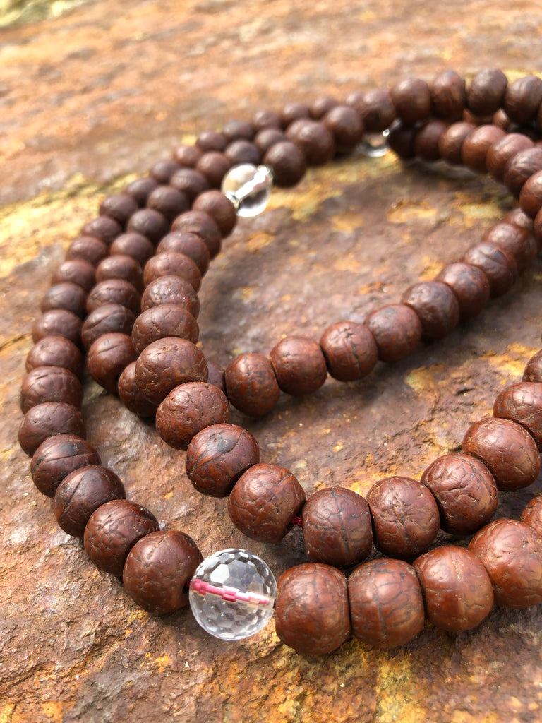 bodhiseed phoenix-eye mala - One of a kind #2
