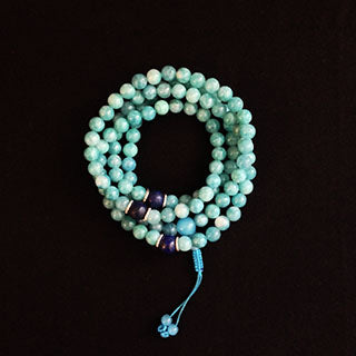 jade blue mala 8mm