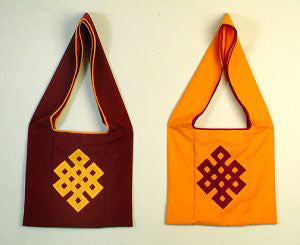 monastic bag w/endless knot