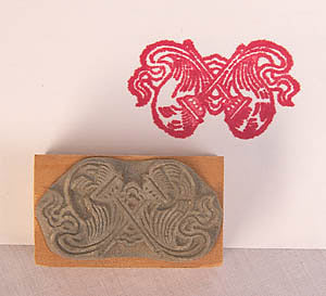 fly-whisk stamp