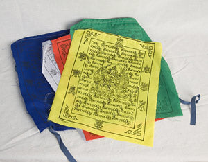 Manjushri prayer flags
