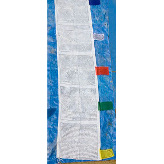 windhorse vertical prayer flags - 7ft