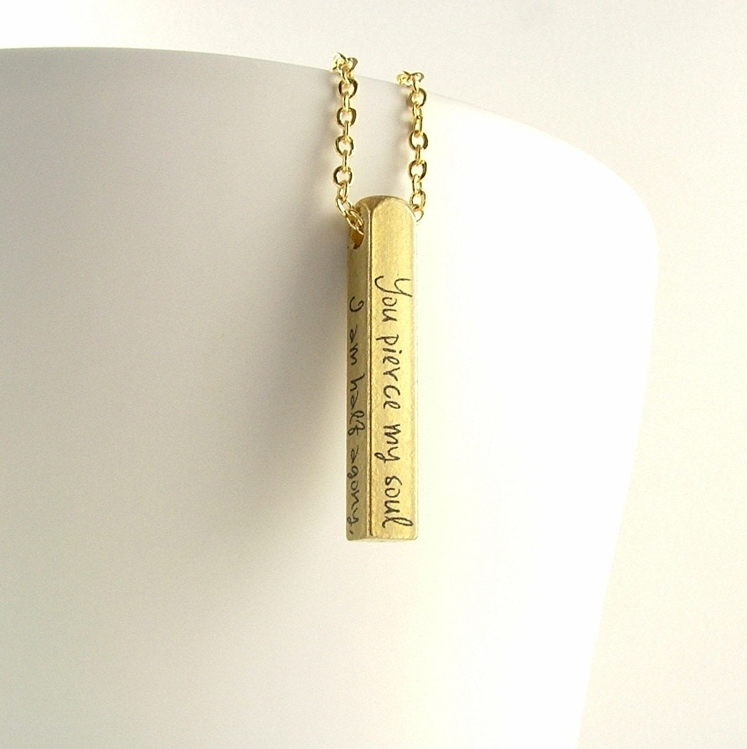 Persuasion Bar Necklace