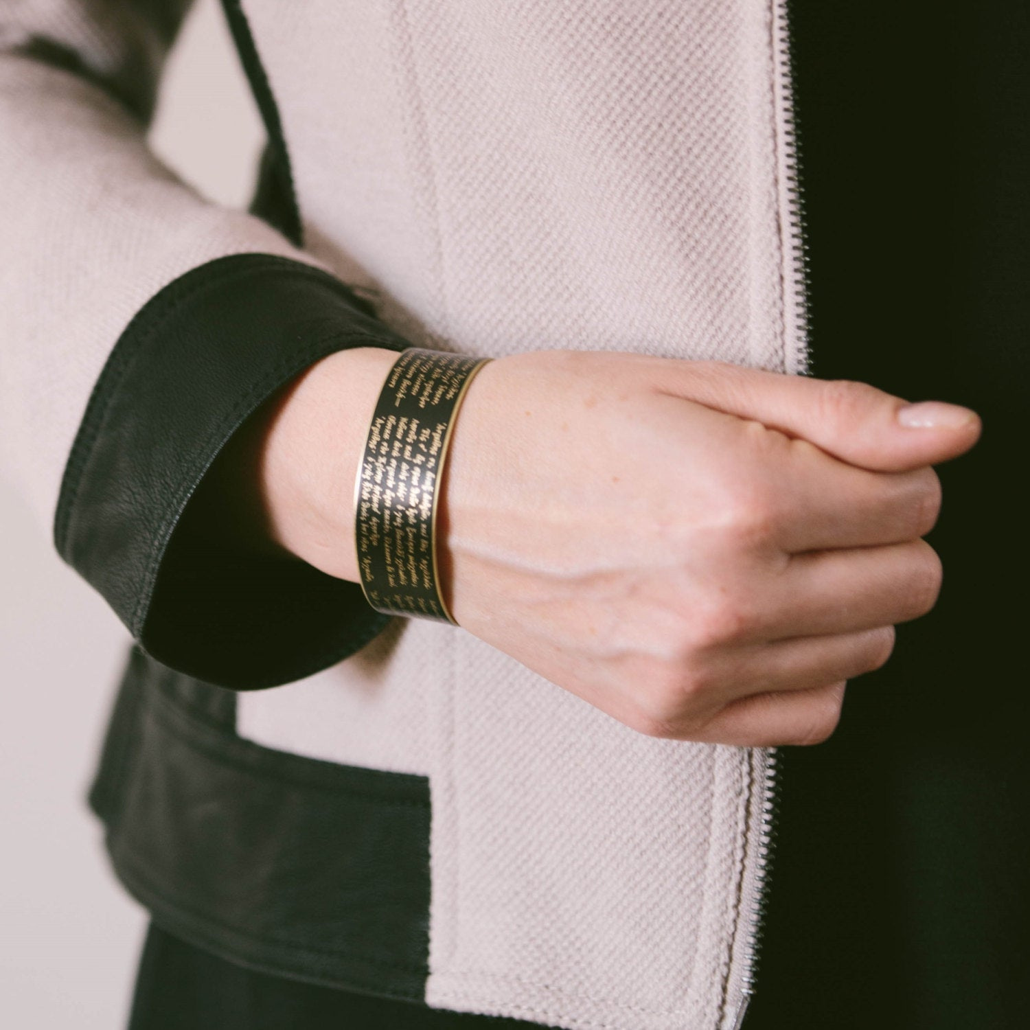 Homer's The Iliad Cuff Bracelet