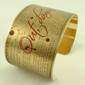 Macbeth Cuff Bracelet - Out Damned Spot
