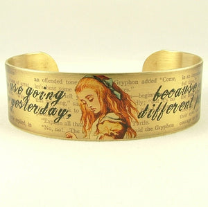 Alice In Wonderland Cuff