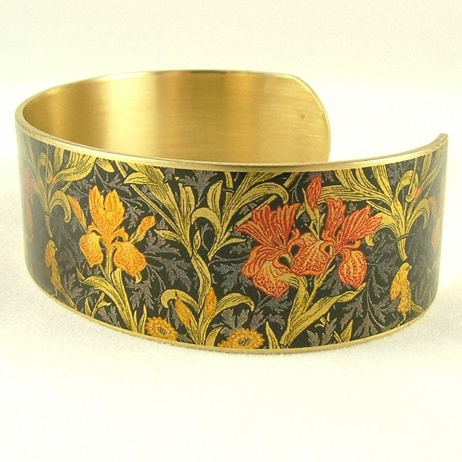 Iris William Morris Cuff Bracelet