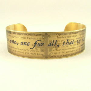 The Three Musketeers Cuff Bracelet