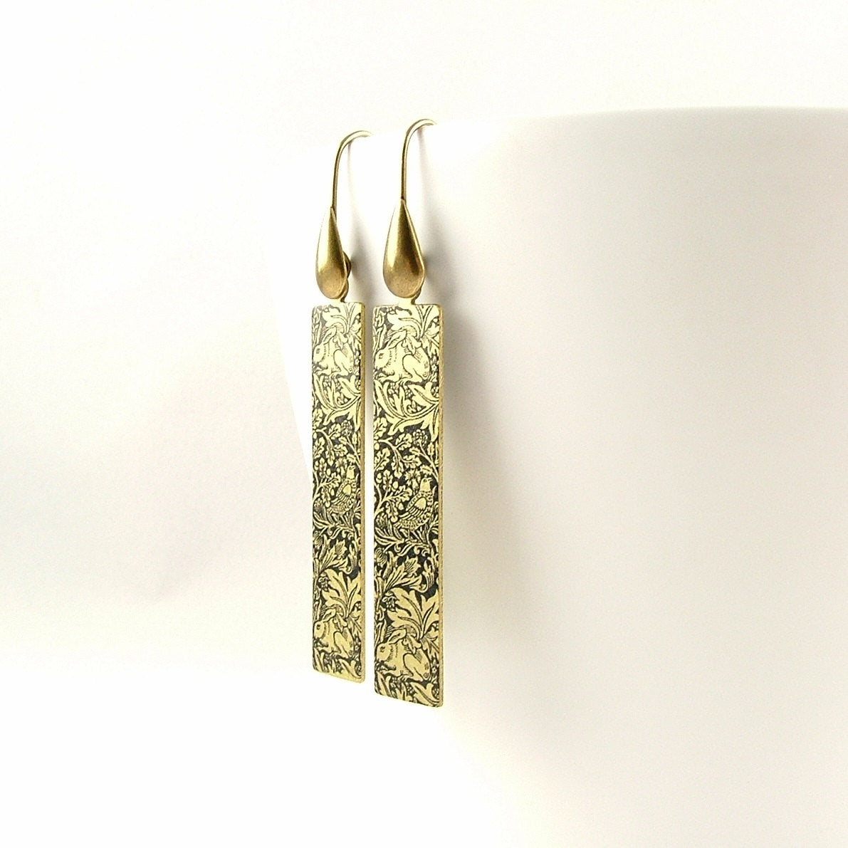 William Morris Brer Rabbit Earrings