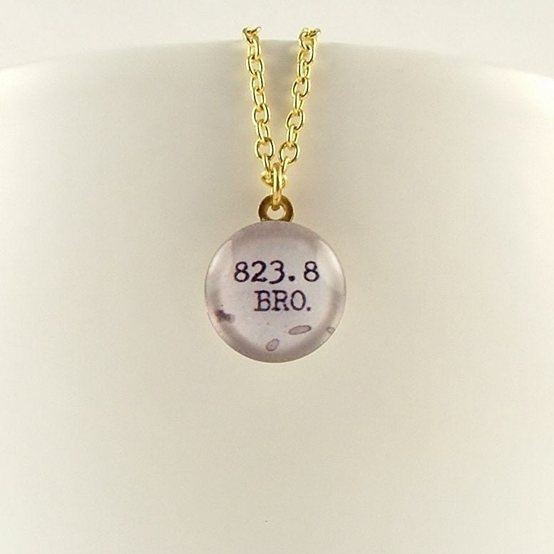 Bronte 823.8 Library Necklace