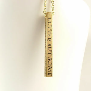 Oscar Wilde Bar Necklace