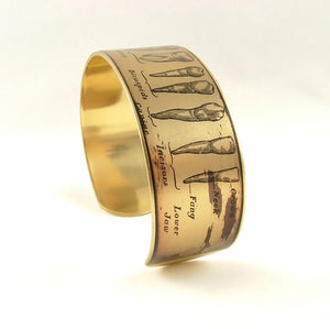 Anatomical Teeth Cuff Bracelet