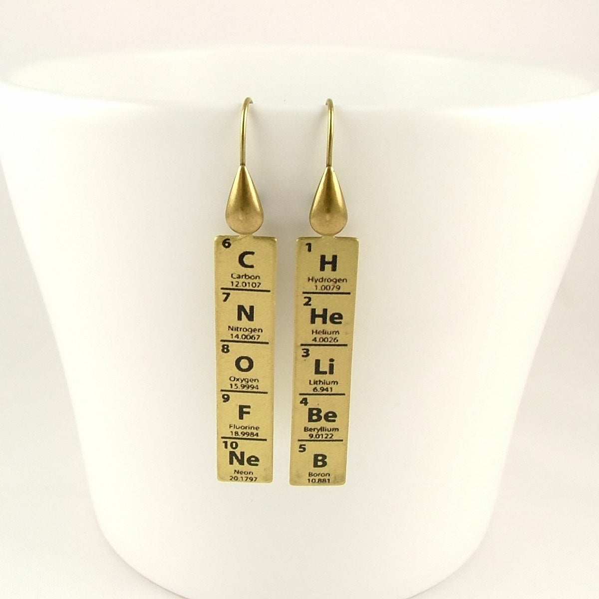 Periodic Table of Elements Earrings