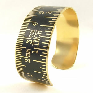 Tape Measure Cuff Bracelet