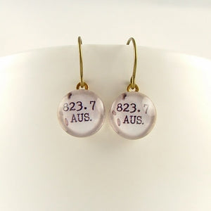 Jane Austen 823.7 Earrings