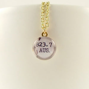 Jane Austen 823.7 Library Necklace